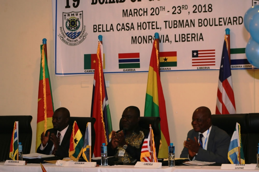 Liberia Hosts Regional Maritime University 19th Board of Governors Meeting