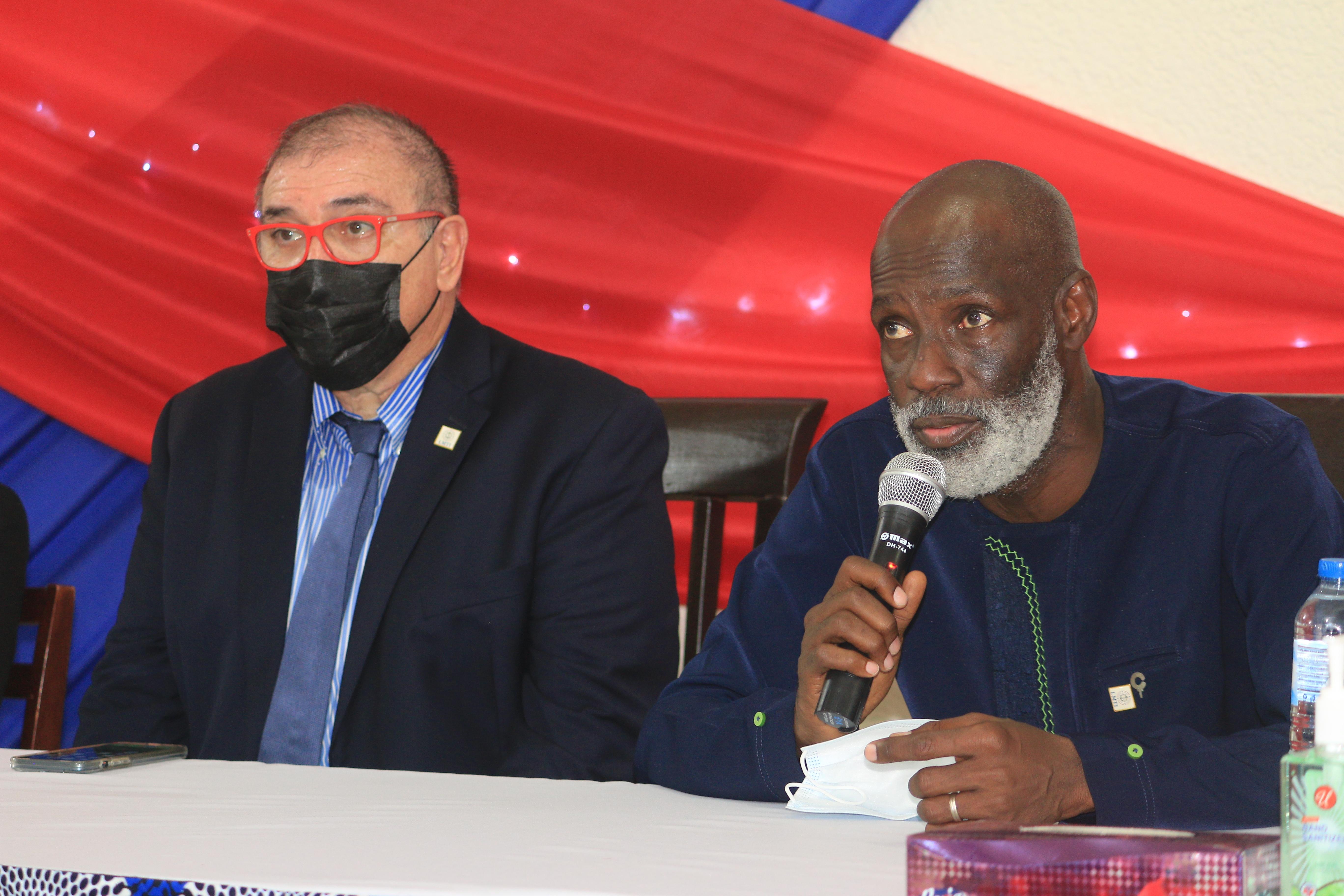 ILiMA Boss Commits To Build Liberians' Competitive Edge In Maritime Labor Market
