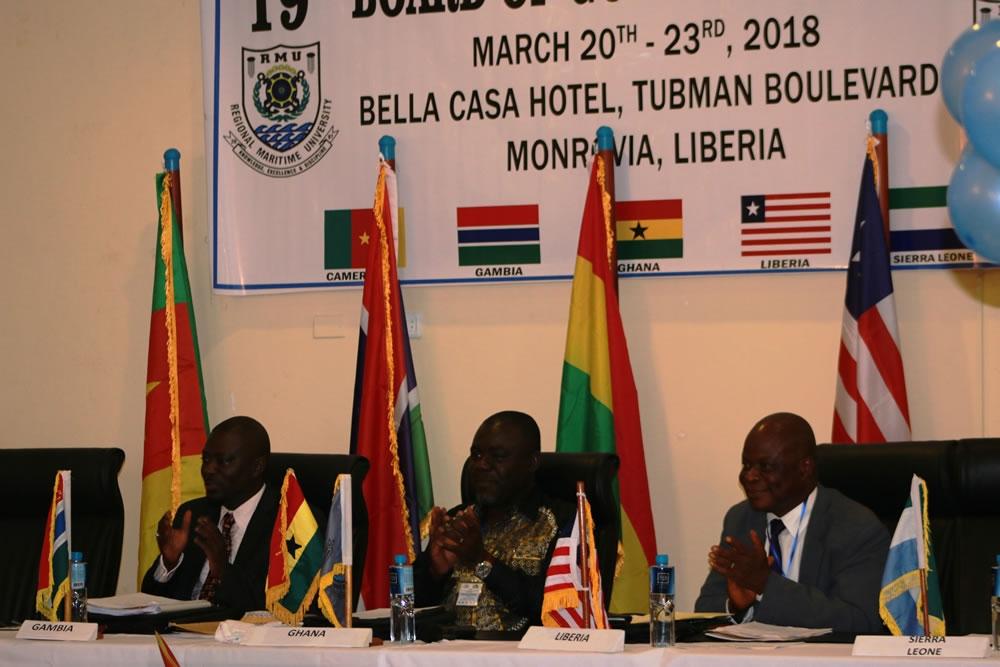 ILiberia Hosts Regional Maritime University 19th Board of Governors Meeting